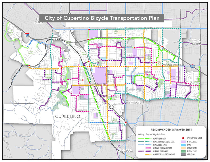 Cupertino Bike Plan Update