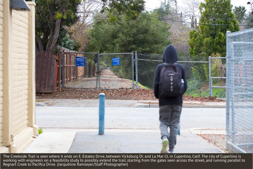 Mercury News: Regnart Creek Trail plan draws mixed reaction