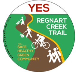 City Council Approves moving ahead on the Regnart Creek Trail!