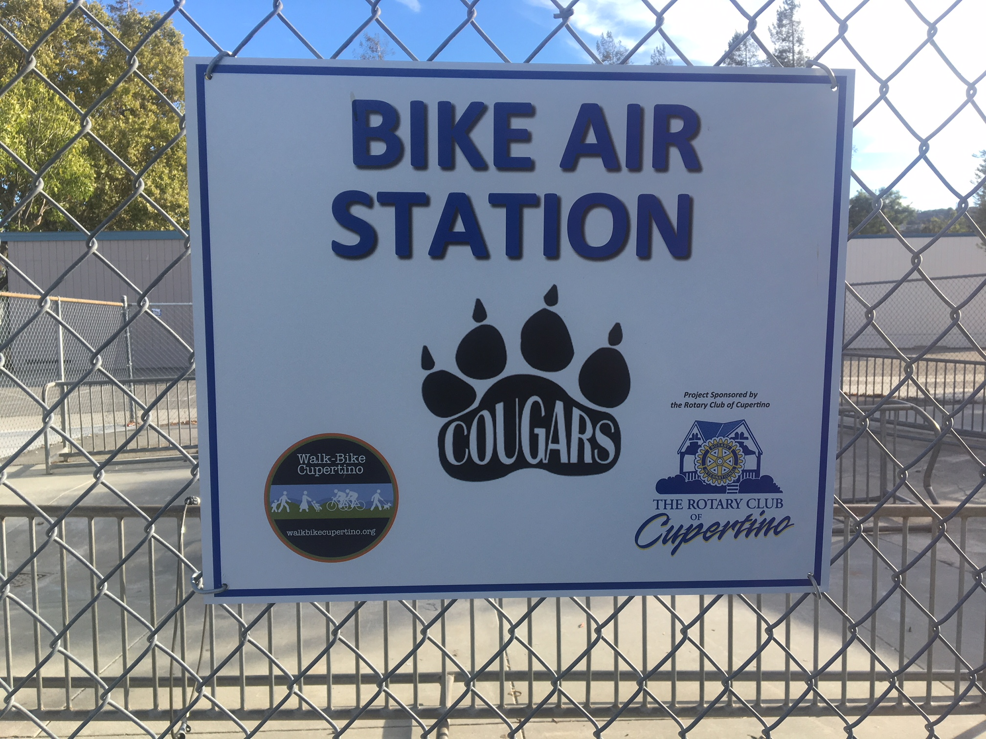 Air Pump Stations Installed at 5 CUSD Middle Schools