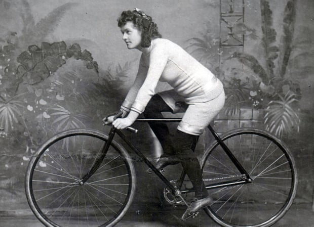 …the forgotten era of women's bicycle racing