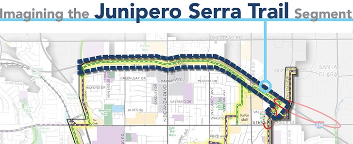 City Moves Junipero Serra Trail Along