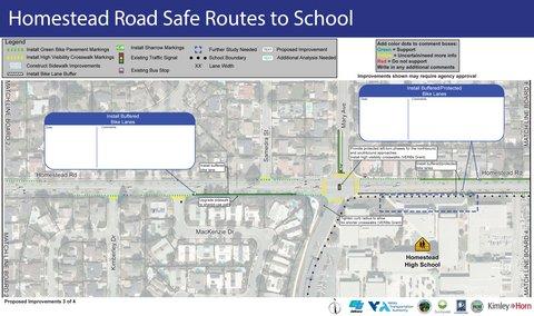 Homestead Road Corridor Study Update