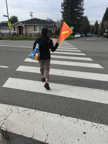 Thank you! Bike/Ped improvements on Rainbow/Poppy intersection