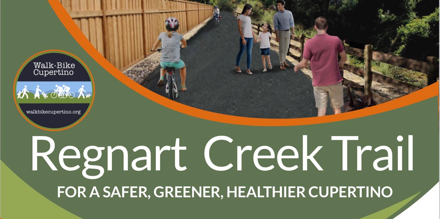 Regnart Creek Trail Project Continues to Progress