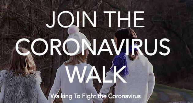 Join the Coronavirus Walk