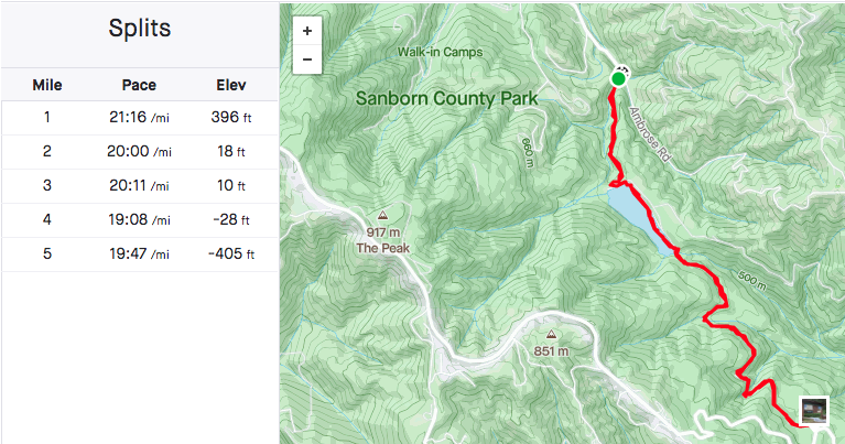 Trail Review: Sanborn Park from Lake Ranch to John Nicholas Trail South