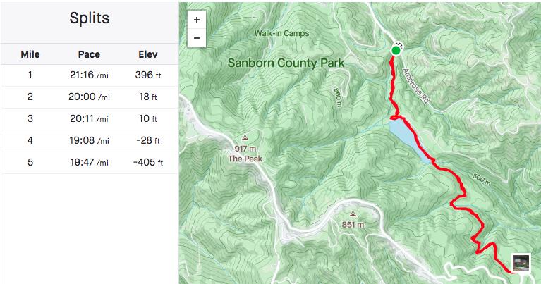 Trail Review: Sanborn Park from Lake Ranch to John Nicholas Trail South