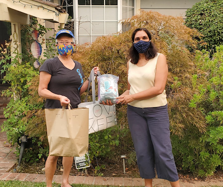 WBC Boardmember leads Masks for Heroes group to support community