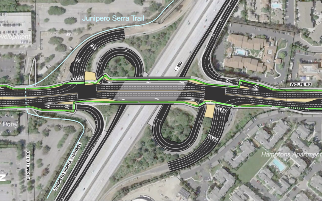 New bridge planned at I-280 Wolfe overpass