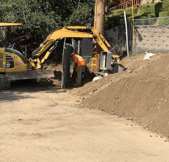 Linda Vista Trail construction moves forward