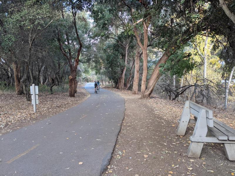 A Fun Bike Route to Shoreline Park via Stevens Creek Trail and Bay Trail