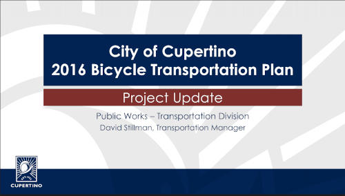 City Bike/Ped Project Update