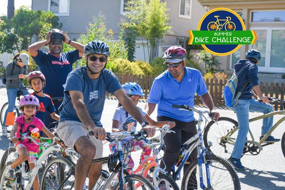 Cupertino Summer Bike Challenges
