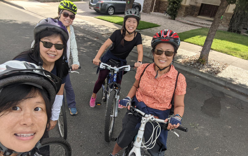 Participation in Summer Bike Challenges