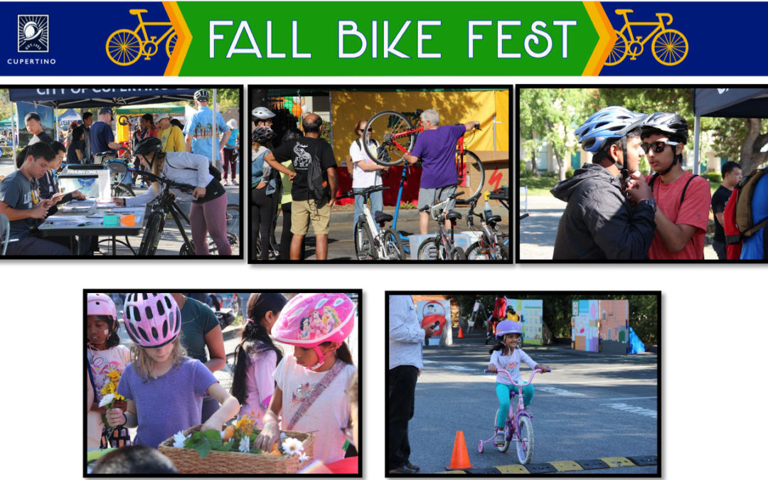 Join in the Fun at Cupertino's 8th Bike Fest on 9/25
