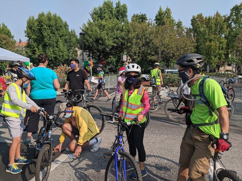 Fun times at the 2021 Cupertino Bike Fest!